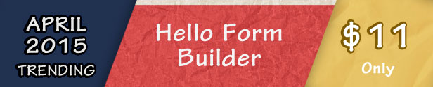 Hello Form Builder - Contact Form - 1